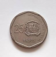 25 песо Доминиканская республика 2008 г., фото 1