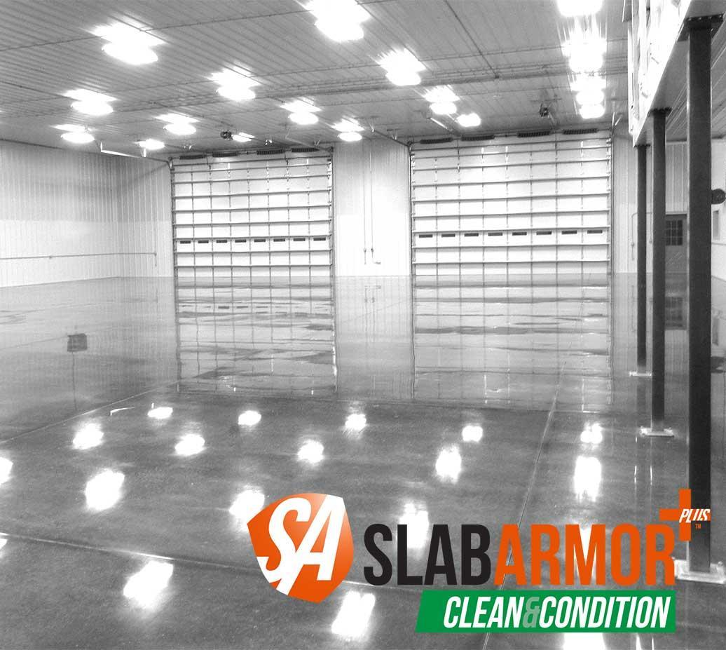 SlabArmor ™ Plus - матеріали догляду за полірованими бетонними підлогами SlabArmor ™