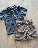Комплект-двойка для мальчиков Primark  шорты+футболка 2/3 года