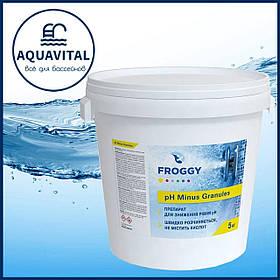 Froggy «рН- Minus Granules»   pH минус в гранулах (ведро 5 кг)