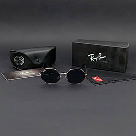 Сонцезахисні окуляри RAY BAN (арт. RB1972) чорні / срібна оправа