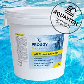 Ph-минус гранулированный / Froggy «pH Minus Granules» (5 кг)