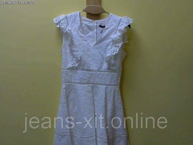 Платье женское 36(р) белое 1111 justwoman Турция Лето-D