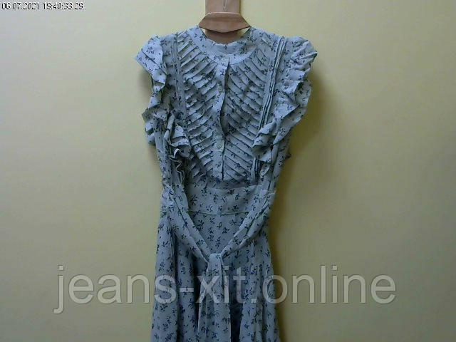 Сукня жіноча L(р) оливкова 9719 КНР Літо-D