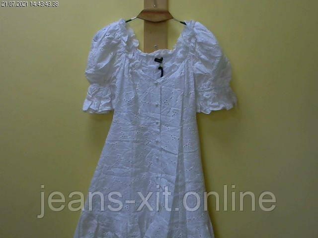 Сукня жіноча 38(р) біла 9164 justwoman Туреччина Літо-D
