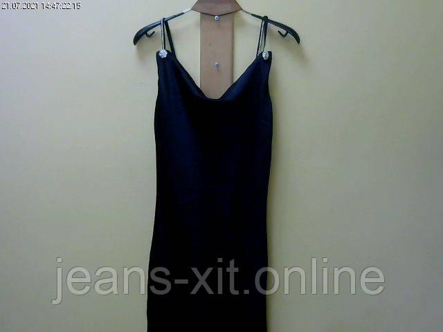 Платье женское 38(р) черное 1958 justwoman Турция Осень-D