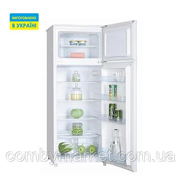 Холодильник (об'єм 179/45, висота 1430 мм, 2 дверей), мороз верх,1 компресор Saturn ST-CF1962К