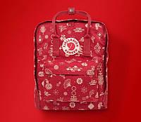 Рюкзак Fjallraven Kanken Classic 16l Fable red портфель рюкзак канкен класік червоний канкен класик красный, фото 1