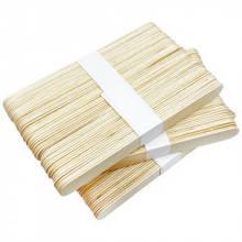 Шпатель деревянный полированный(береза), 50 штук