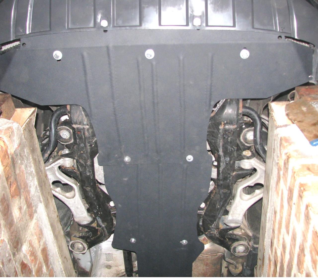 Захист двигуна і КПП Audi Q7 4L 2005–2015 р (2 листки)