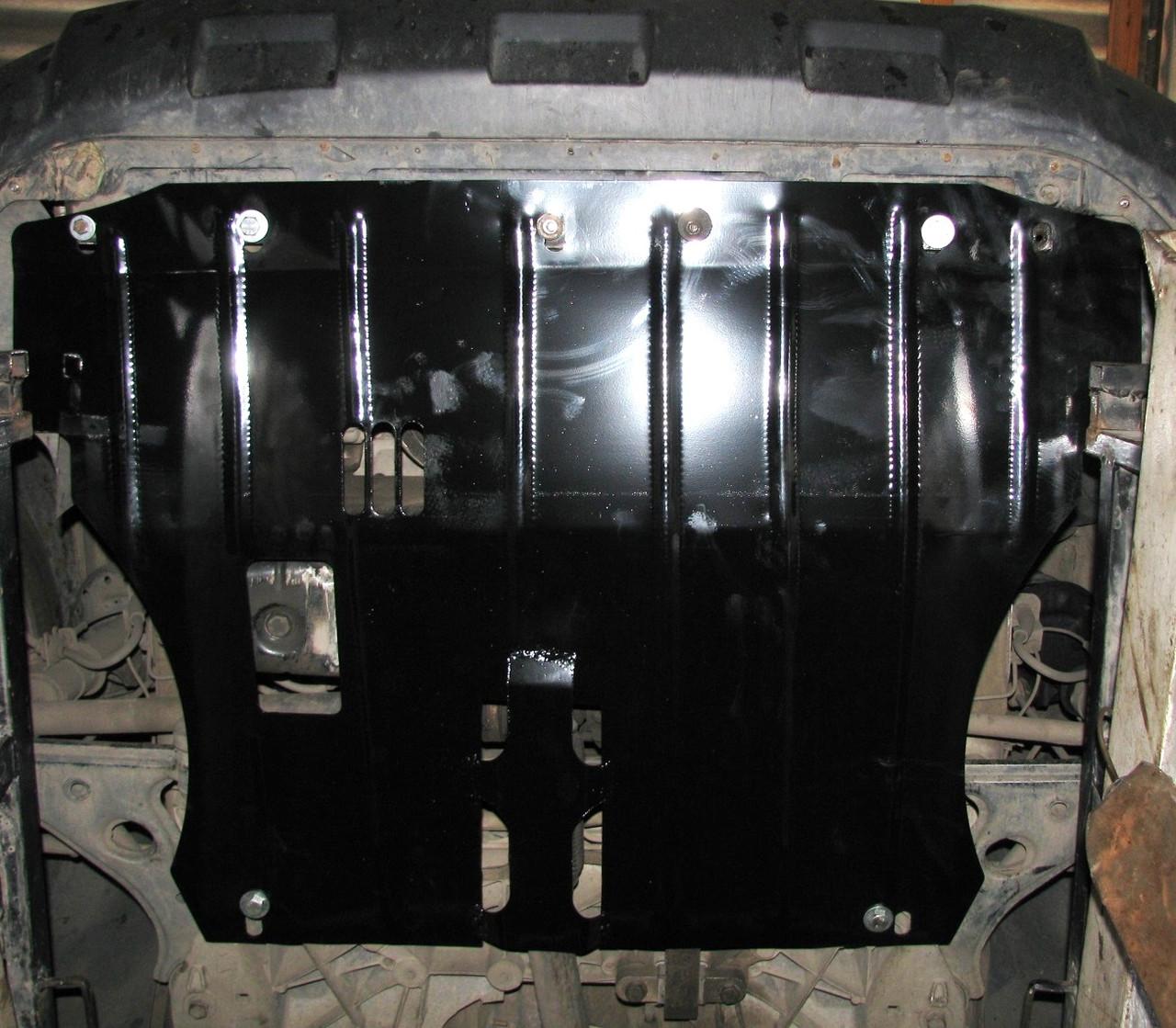 Захист двигуна Peugeot Bipper 2007- (двигун+КПП)