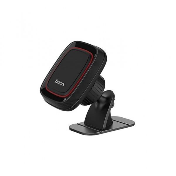 Автомобильный держатель для телефона Hoco CA24 Lotto Series Magnetic Black