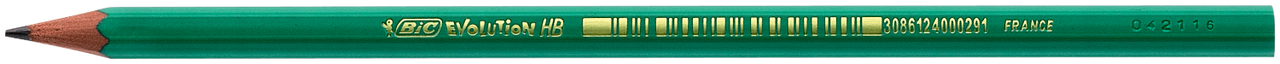 """Олівець чернографитовый """"Evolution Eco"""", з гумкою, 655HB (набір 4шт)"""