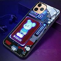Led чохол для iPhone 7+/8+/X/XS/XS max/11/11pro/11pro max/12Mini/12/12pro зі світлодіодним підсвічуванням, фото 1