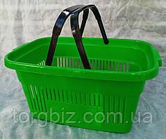 Купівельна кошик для супермаркетів синя