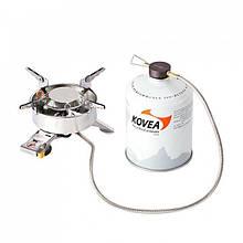 Газовая горелка Kovea CAMP-1 Plus KB-1608 с пьезоподжигом и специальным шлангом