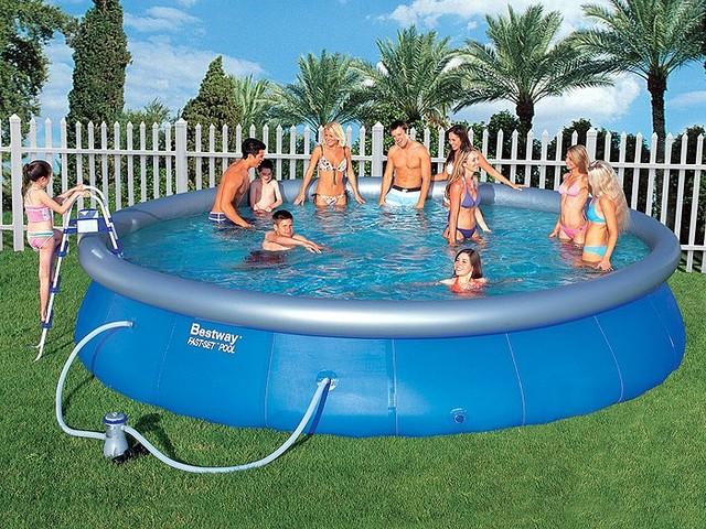 Надувной бассейн BestWay 57236 (549*132 см)