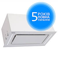 Витяжка вбудовувана кухонна ELEYUS GEMINI 1200 LED 52 WH (біла) , фото 1