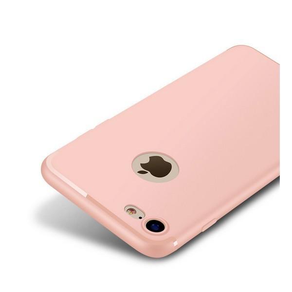 Накладка для iPhone 7/iPhone 8 силікон 0,2 mm Infinity Slim Рожевий