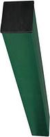 Столб для крепления секционных ограждений 1,0 м
