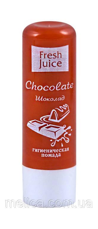 Гигиеническая помада Fresh Juice Chocolate (Шоколад) - 3,6 г.