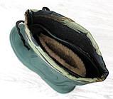 Чоботи чоловічі зимові легкі для риболовлі зеленого кольору (Пр-1551н), фото 3