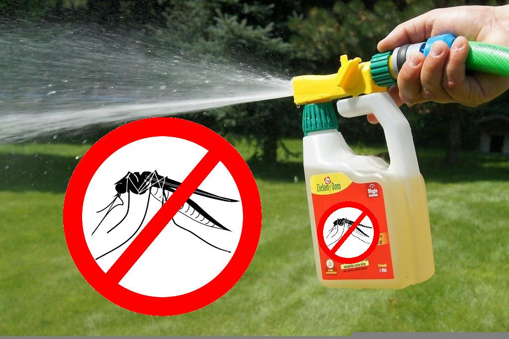 Натуральное средство от комаров концентрат Zielony Dom для обработки территорий (отпугиватель)