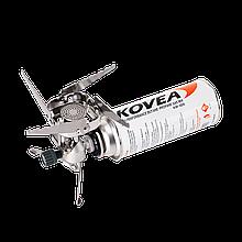 Газовая туристическая горелка Kovea Maximum TKB-9901 с пьезоподжигом и ветрозащитой