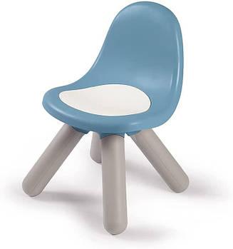 Стілець зі спинкою дитячий блакитно-білий Smoby 880108