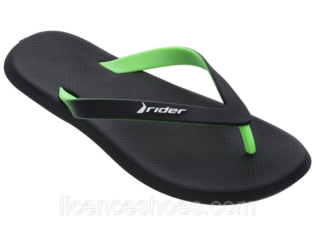 25 забарвлень. Чоловічі в'єтнамки Rider R1 AD Black/Green