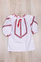 Вышиванка для девочки рост 122-152 (7-12 лет)