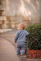 Бавовняний в'язаний костюм для хлопчика 68-86