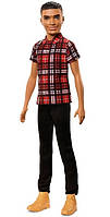 Лялька Кен Модник Fashionistas Plaid on Point Barbie Ken FNH41, фото 8