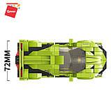 Конструктор спортивна машина Lamborghini VNO-12 Ламборгіні для хлопчиків 292 деталі Qman 14021 (18шт), фото 2