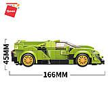 Конструктор спортивна машина Lamborghini VNO-12 Ламборгіні для хлопчиків 292 деталі Qman 14021 (18шт), фото 3