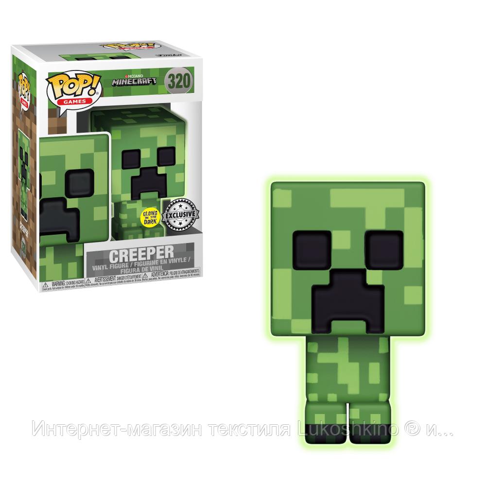 """Ігрова фігурка FUNKO POP! серії """"Minecraft"""" - Green Creeper"""