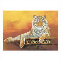 """Схема для вышивки бисером """"Тигр"""""""