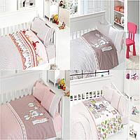 Комплект детского постельного белья из бамбука First Choice Baby в кроватку (для девочки)