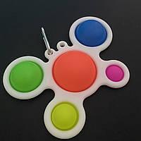 Игрушка антистресс развивающая вечная пупырка Симпл Димпл Simple Dimple цветная