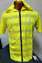 Мужская молодёжная футболка ADIDAS с капюшоном