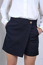 Шорты юбка шорты для девочки школьные  р.146-164 опт