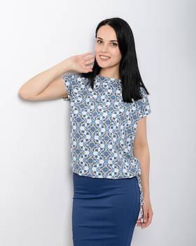 Яркая летняя блузка 6-0114