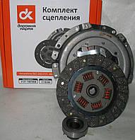 Сцепление ВАЗ 2121 (диск нажимной+диск ведомый+подшипник) <ДК>