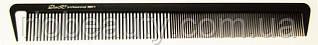 Расчёска-планка парикмахерская с крючком ДенІС 06911