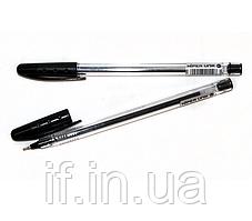 Ручка масляна Hiper Unik HO-530 чорна 50/2000шт/ уп ш.к.8904128401171
