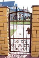 Красивая входная кованая дверь в Херсоне - заказ, продажа