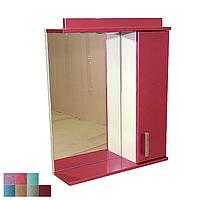"""Зеркало для ванной комнаты с подсветкой и шкафчиком """"Колибри"""" 60ml"""