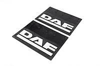 Купити комплект задніх бризговиків на DAF (62*35 см)