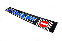 Брызговик DAF 35*240 синяя надпись