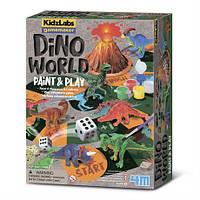 Игровой набор Мир динозавров 4M (00-03400)